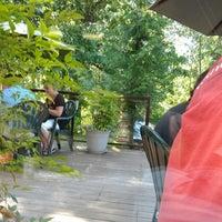 Photo taken at Riverwalk Cafe by Rob R. on 7/12/2012