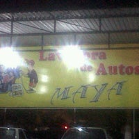 Photo taken at Lavadora de Autos Maya by Enrique L. on 3/16/2012