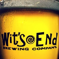 Photo taken at Wit's End Brewery by Josh H. on 2/10/2012