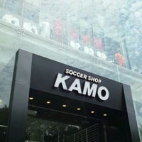 6/8/2012にakitwoがサッカーショップKAMO 原宿店で撮った写真