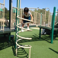 Photo taken at Spain Park Playgrounds by umesan on 8/4/2012