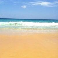 Photo taken at Karon Beach by Алена on 9/3/2012