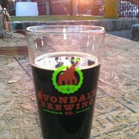 Photo taken at Avondale Brewing Company by Rebecca M. on 3/27/2012