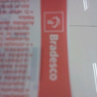Photo taken at Bradesco by Deivys S. on 5/10/2012