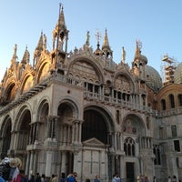 Photo taken at St Mark's Basilica by yoshimitsu s. on 7/9/2012