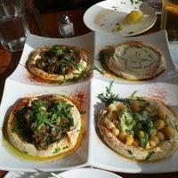 Photo taken at Hummus Kitchen by Jamal P. on 8/12/2012