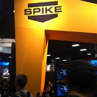 Photo taken at Official Spike Booth at Comic-Con by Laura H. on 7/12/2012