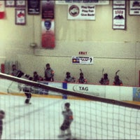 Photo taken at Edge Ice Arena by Nick B. on 6/3/2012