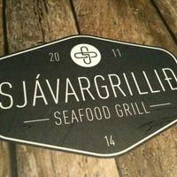 Photo taken at Sjávargrillið - Seafood Grill by jon a. on 7/3/2012