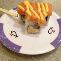 Photo taken at Sushi King by JieWen Y. on 5/2/2012