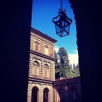 Photo taken at Pitti Palace by Althea C. on 7/22/2012