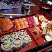 Photo taken at Hinote Sushi by Bonnie E. on 4/6/2012