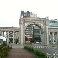 Photo taken at Kyung Hee University Global Campus by HakSung J. on 8/25/2012