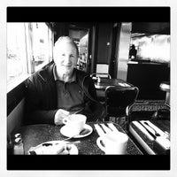 Photo taken at Empire Diner by Frank on 3/30/2012