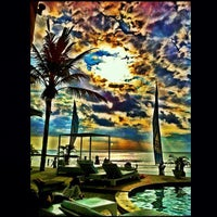Photo taken at Oceans27 Beach Club & Grill by Novi M. on 9/1/2012
