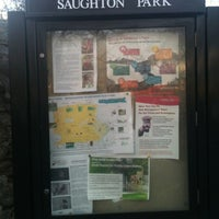 Photo taken at Saughton Park and Gardens by Heather T. on 3/4/2012