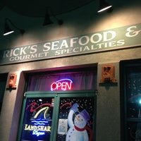 Photo taken at Rick's Seafood by Matthew L. on 3/3/2012
