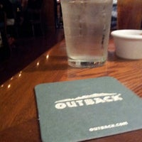 Photo taken at Outback Steakhouse by Edward R. on 8/17/2012