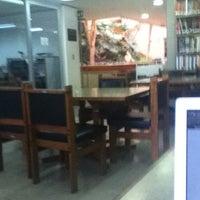 Photo taken at Biblioteca De Posgrado Enzo Levi by Daniel M. on 4/27/2012