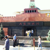 Photo taken at Lenin's Mausoleum by Stan on 8/1/2012