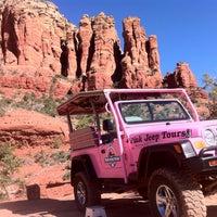 Photo taken at Pink Jeep Tours Sedona, AZ by Ali S. on 4/24/2012