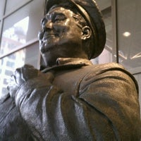 Photo taken at Ralph Kramden Statue by Rob on 2/2/2012