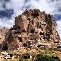 8/29/2012 tarihinde Alay O.ziyaretçi tarafından Uçhisar Kalesi'de çekilen fotoğraf