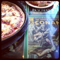 Photo taken at Conans Pizza Central by Tiffany on 5/30/2012