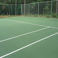Photo taken at Harthaven Tennis Camp by Michal W. on 8/19/2012