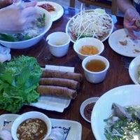 Photo taken at Pho Hoa Hiep Restaurant by Steve K. on 5/10/2012