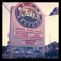 Photo taken at Jake's Seafood Restaurant by Jake R. on 6/30/2012