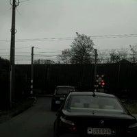 Photo taken at Overweg Bareelstraat by Jan H. on 4/28/2012