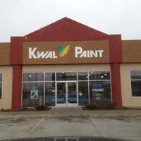 Photo taken at Kwal Paint by David M. on 4/11/2012
