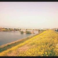 Photo taken at 千歳橋 by GATTACA on 3/31/2012
