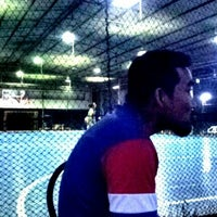 Photo taken at Futsal Centre Tamparuli by Shark A. on 6/29/2012