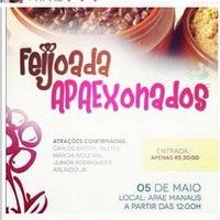 Photo taken at APAE - Associação de Pais e Amigos dos Excepcionais by Santa C. on 4/26/2012