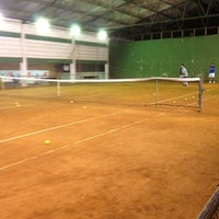 Photo taken at Racket Sports by Diego P. on 7/30/2012