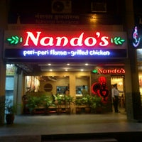 Photo taken at Nando's by Prabhjot S. on 9/11/2012