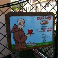 Photo taken at Café Fara by Petr S. on 5/1/2012