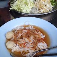 Photo taken at ขนมจีน ตลาดนครหลวง by Nokadd4s on 6/9/2012