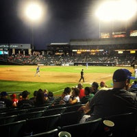 Photo taken at Dell Diamond by Kristen A. on 8/6/2012
