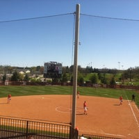 Photo taken at Tech Softball Park by Robin M. on 4/7/2012