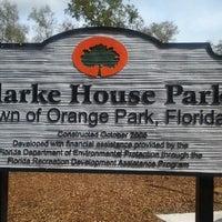 Photo taken at Clark House Park by Brenda G. on 3/3/2012