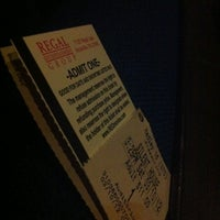 Photo taken at Regal Cinemas Hadley Theatre 16 by Demetrius B. on 3/10/2012
