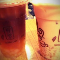 Photo taken at Gong Cha 貢茶 by Alex B. on 4/20/2012