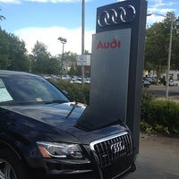 Photo taken at Audi of Alexandria by Cameron A. on 7/15/2012