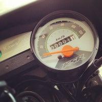 Photo taken at BikeCafe by Patiphat P. on 5/19/2012