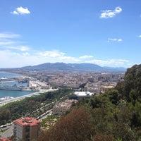 Photo taken at Hotel Parador de Málaga Gibralfaro by Diana I. on 5/8/2012