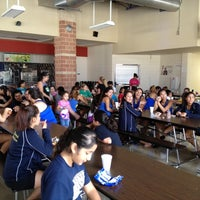 Photo taken at Akins High School Cafeteria by Meg M. on 8/18/2012