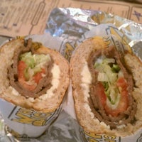 Photo taken at Which Wich Superior Sandwiches by Valerie A. on 7/2/2012